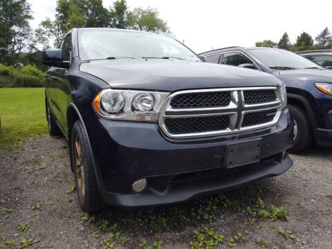 2012 Dodge Durango for sale at RS Motors in Falconer NY