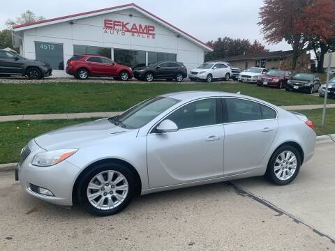 2013 Buick Regal for sale at Efkamp Auto Sales LLC in Des Moines IA