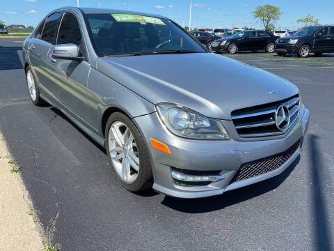 2014 Mercedes-Benz C-Class for sale at Great Lakes Auto Superstore in Waterford Township MI