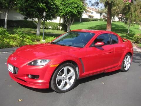 2004 Mazda RX-8 for sale at E MOTORCARS in Fullerton CA