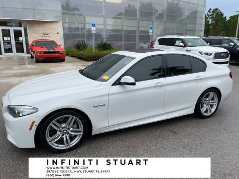 2016 BMW 5 Series for sale at Infiniti Stuart in Stuart FL