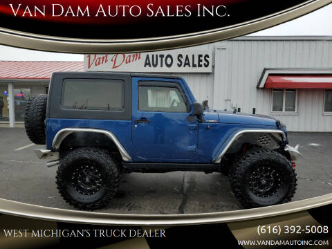 2009 Jeep Wrangler for sale at Van Dam Auto Sales Inc. in Holland MI