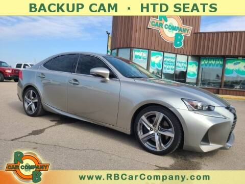 2018 Lexus IS 300 for sale at R & B Car Co in Warsaw IN