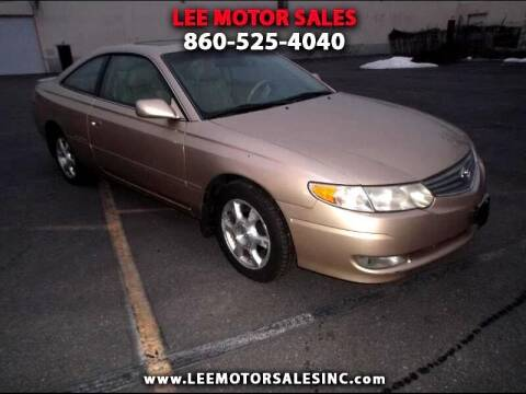 2003 Toyota Camry Solara for sale at Lee Motor Sales Inc. in Hartford CT