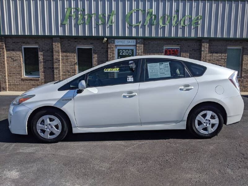 2010 Toyota Prius for sale at First Choice Auto in Greenville SC