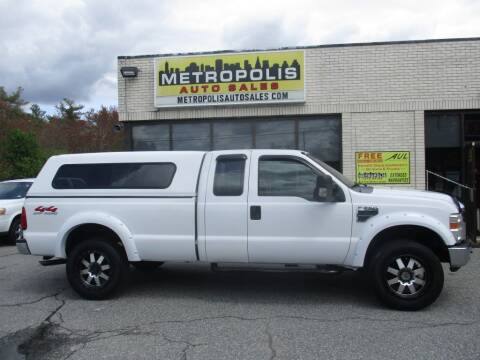 2008 Ford F-250 Super Duty for sale at Metropolis Auto Sales in Pelham NH