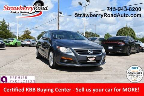 2009 Volkswagen CC for sale at Strawberry Road Auto Sales in Pasadena TX