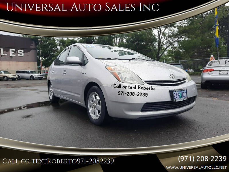 2008 Toyota Prius for sale at Universal Auto Sales Inc in Salem OR