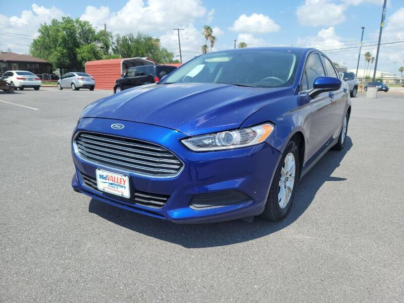 2016 Ford Fusion for sale at Mid Valley Motors in La Feria TX