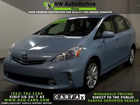2013 Toyota Prius v for sale at NW Automotive Group in Cincinnati OH