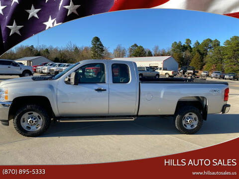 2012 Chevrolet Silverado 2500HD for sale at Hills Auto Sales in Salem AR
