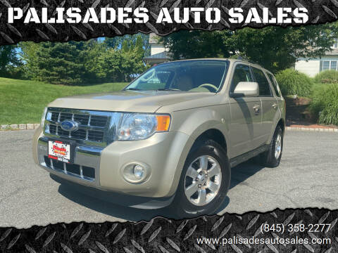 2011 Ford Escape for sale at PALISADES AUTO SALES in Nyack NY
