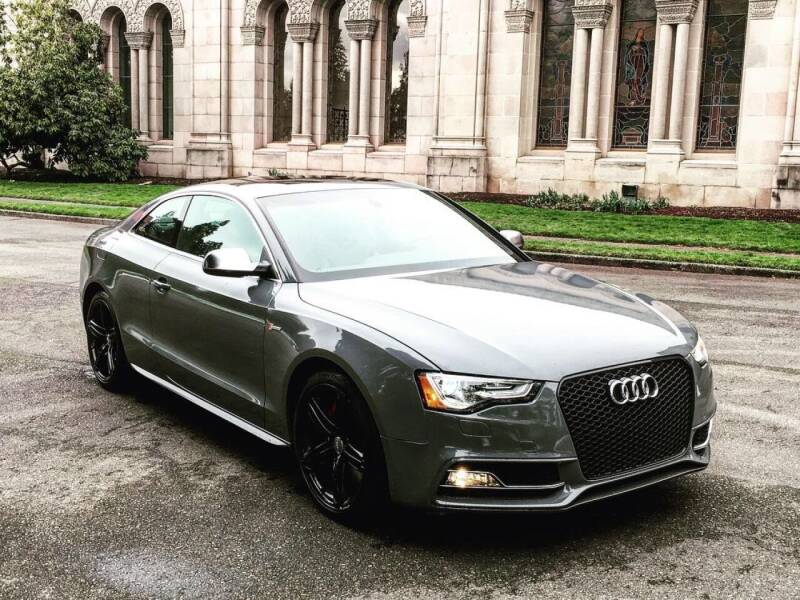 2014 Audi S5 for sale at First Union Auto in Seattle WA