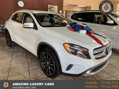 2017 Mercedes-Benz GLA for sale at Amazing Luxury Cars in Snellville GA