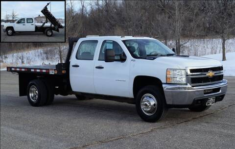 2012 Chevrolet Silverado 3500HD CC for sale at KA Commercial Trucks, LLC in Dassel MN