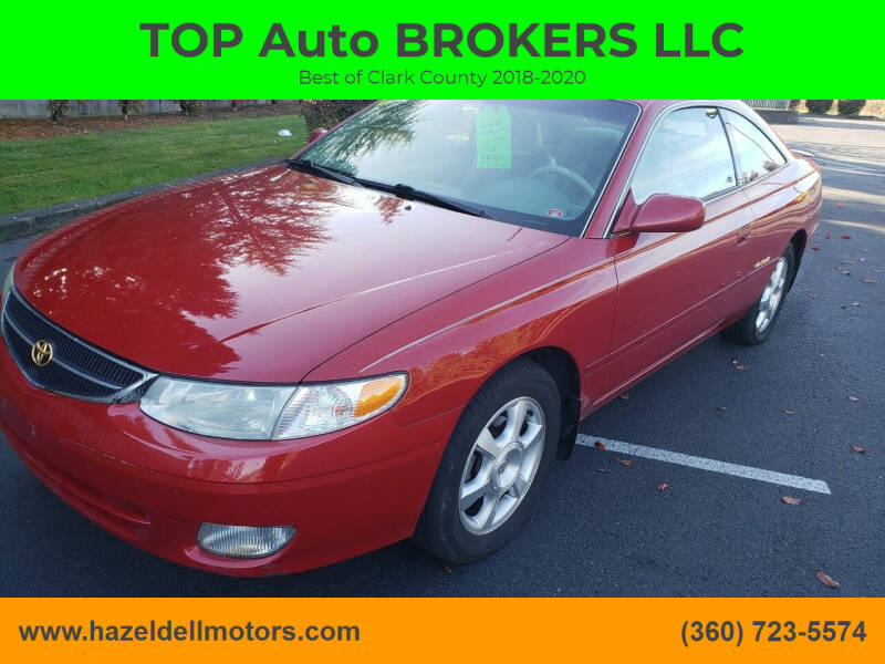 2000 Toyota Camry Solara for sale at TOP Auto BROKERS LLC in Vancouver WA
