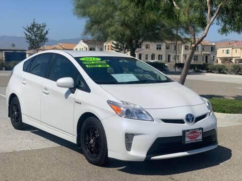 2012 Toyota Prius for sale at Esquivel Auto Depot in Rialto CA