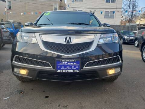 2013 Acura MDX for sale at JFC Motors Inc. in Newark NJ