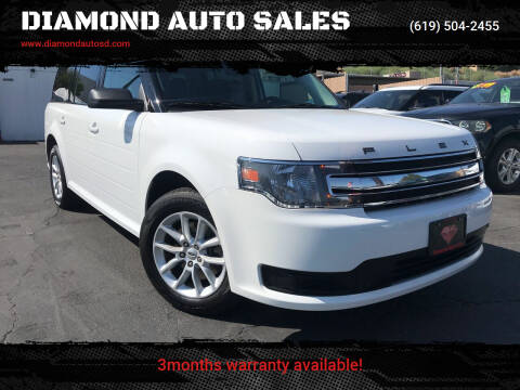 2015 Ford Flex for sale at DIAMOND AUTO SALES in El Cajon CA