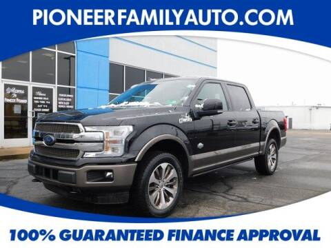 2020 Ford F-150 for sale at Pioneer Family auto in Marietta OH