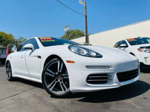 2014 Porsche Panamera for sale at Alpha AutoSports in Roseville CA