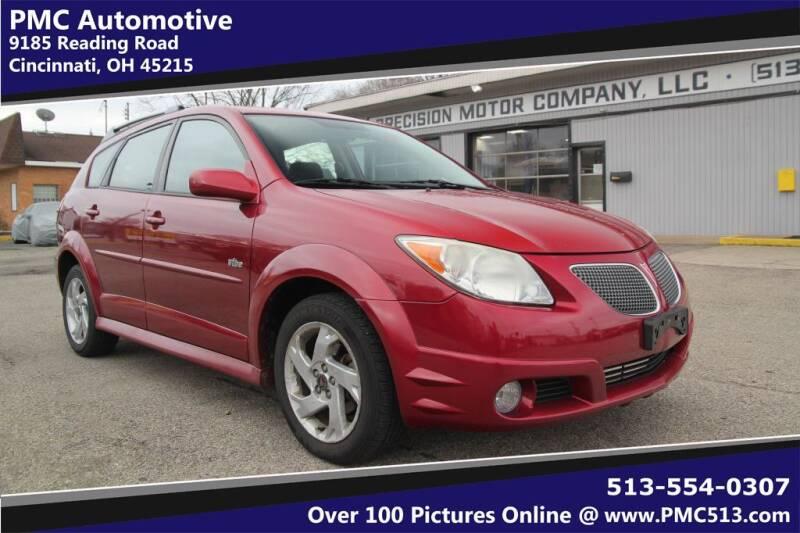 2007 Pontiac Vibe for sale at PMC Automotive in Cincinnati OH