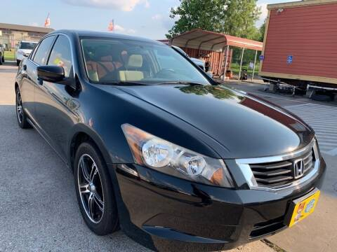 2009 Honda Accord for sale at JAVY AUTO SALES in Houston TX