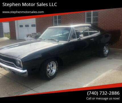 1970 Plymouth Satellite for sale at Stephen Motor Sales LLC in Caldwell OH