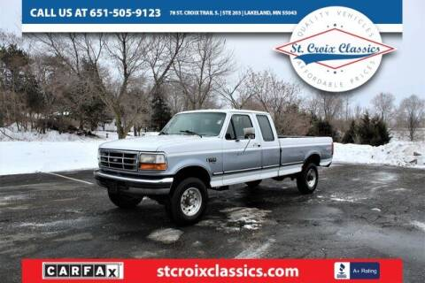 1996 Ford F-250 for sale at St. Croix Classics in Lakeland MN