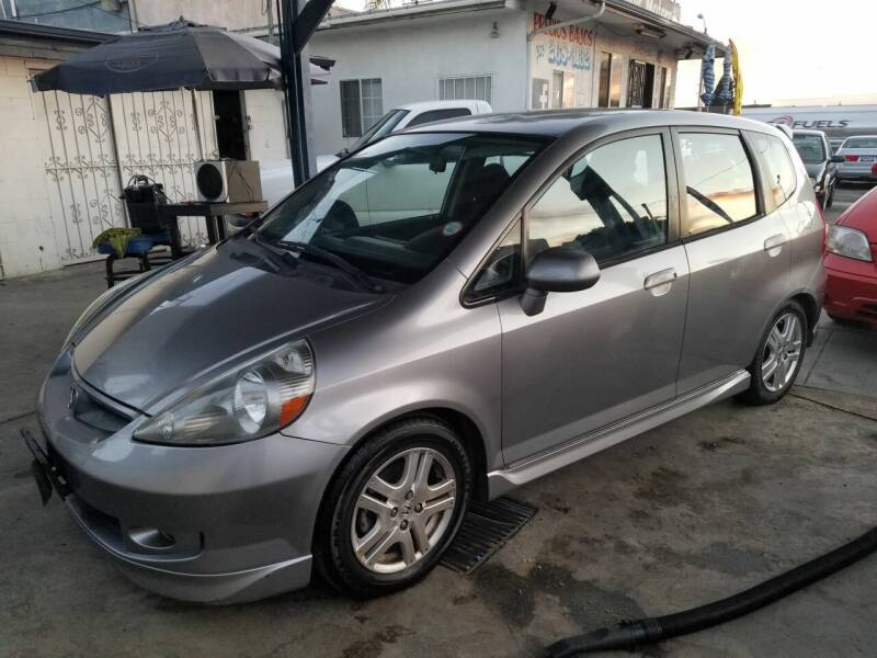 2008 Honda Fit for sale at Olympic Motors in Los Angeles CA