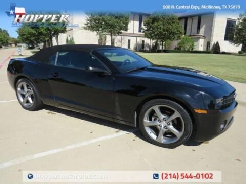 2013 Chevrolet Camaro for sale at HOPPER MOTORPLEX in Mckinney TX