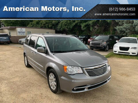 2013 Chrysler Town and Country for sale at American Motors, Inc. in Farmington MN