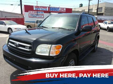 2004 Toyota Sequoia for sale at Speedway Auto Sales in Yakima WA