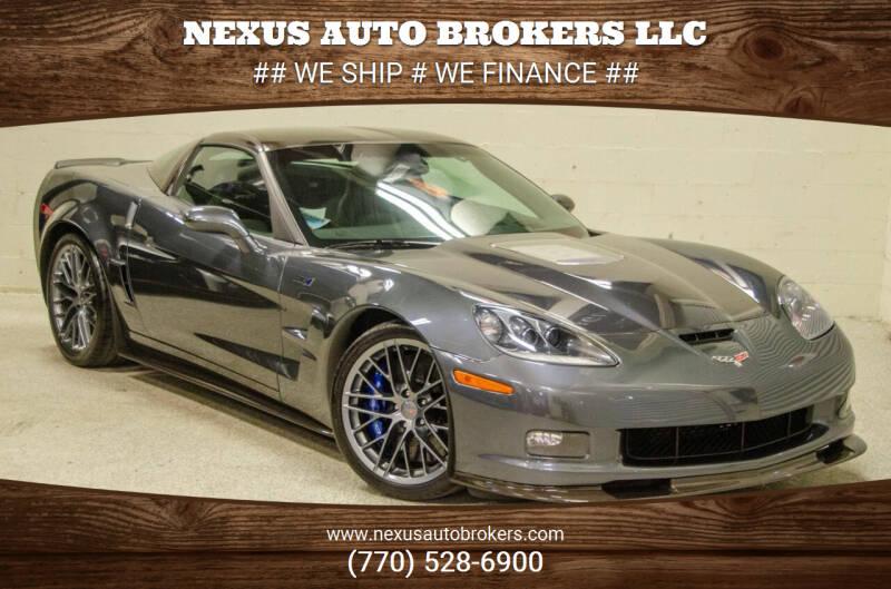 2010 Chevrolet Corvette for sale at Nexus Auto Brokers LLC in Marietta GA