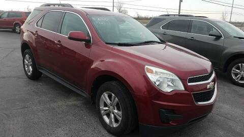 2012 Chevrolet Equinox for sale at HEDGES USED CARS in Carleton MI
