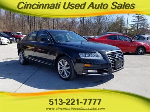 2009 Audi A6 for sale at Cincinnati Used Auto Sales in Cincinnati OH