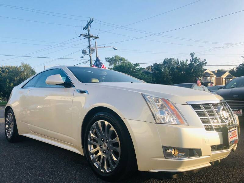 2013 Cadillac CTS for sale at Trimax Auto Group in Norfolk VA