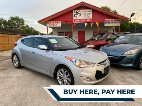 2013 Hyundai Veloster for sale at Coqui Auto Sales in La Feria TX