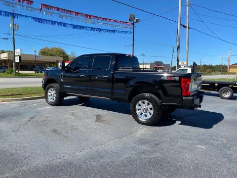 2017 Ford F-250 Super Duty for sale at D & D Auto Sales in Valdosta GA