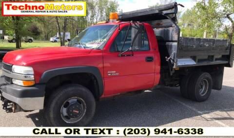 2002 Chevrolet Silverado 3500 for sale at Techno Motors in Danbury CT