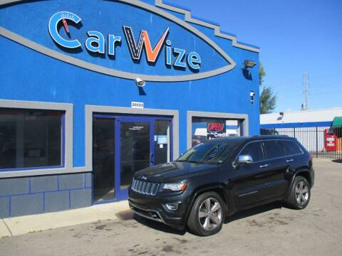 2014 Jeep Grand Cherokee for sale at Carwize in Detroit MI