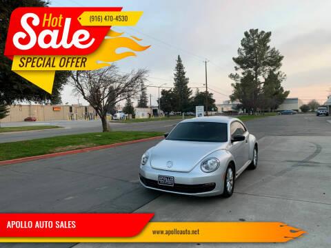2014 Volkswagen Beetle for sale at APOLLO AUTO SALES in Sacramento CA