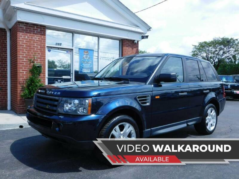 2006 Land Rover Range Rover Sport for sale at Delaware Auto Sales in Delaware OH