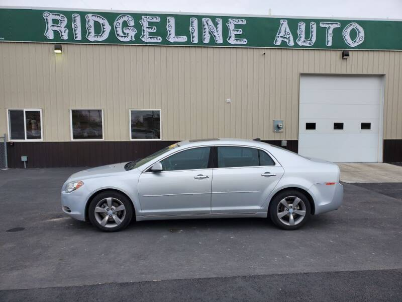 2012 Chevrolet Malibu for sale at RIDGELINE AUTO in Chubbuck ID