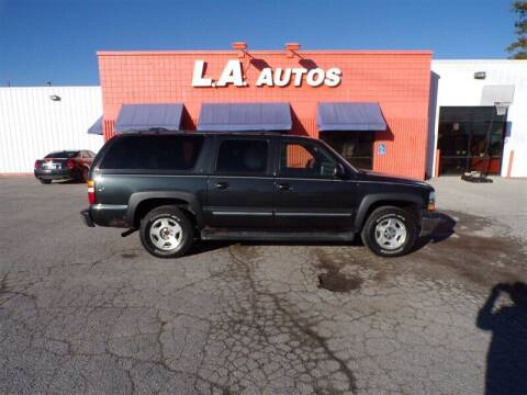 2006 Chevrolet Suburban for sale at L A AUTOS in Omaha NE
