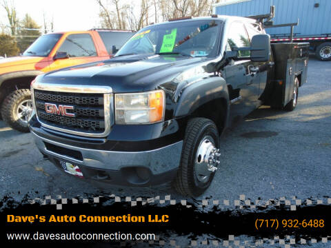 2012 GMC Sierra 3500HD CC for sale at Dave's Auto Connection LLC in Etters PA