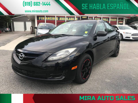 2013 Mazda MAZDA6 for sale at Mira Auto Sales in Raleigh NC