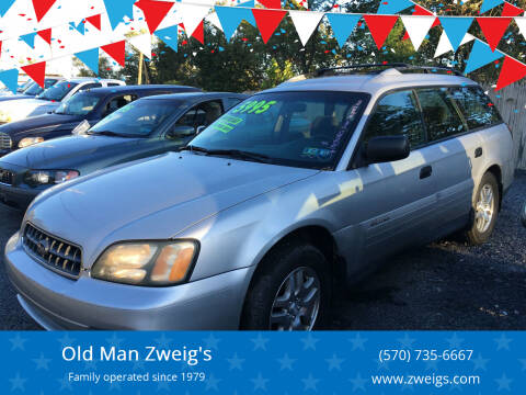 2004 Subaru Outback for sale at Old Man Zweig's in Plymouth PA