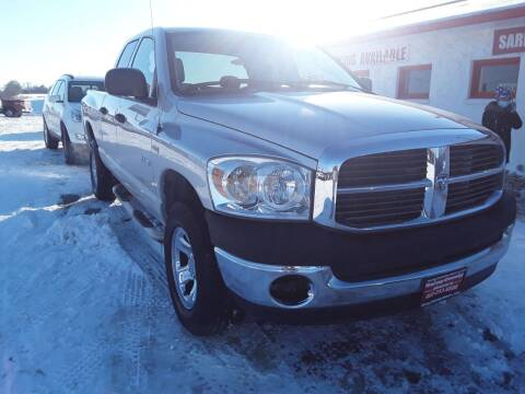 2008 Dodge Ram Pickup 1500 for sale at Sarpy County Motors in Springfield NE