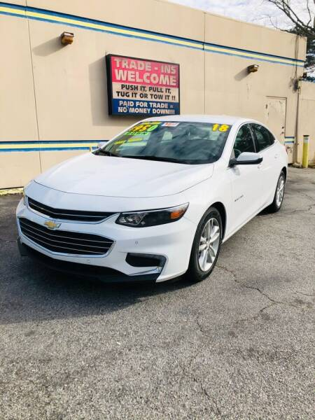 2018 Chevrolet Malibu for sale at Capital Car Sales of Columbia in Columbia SC